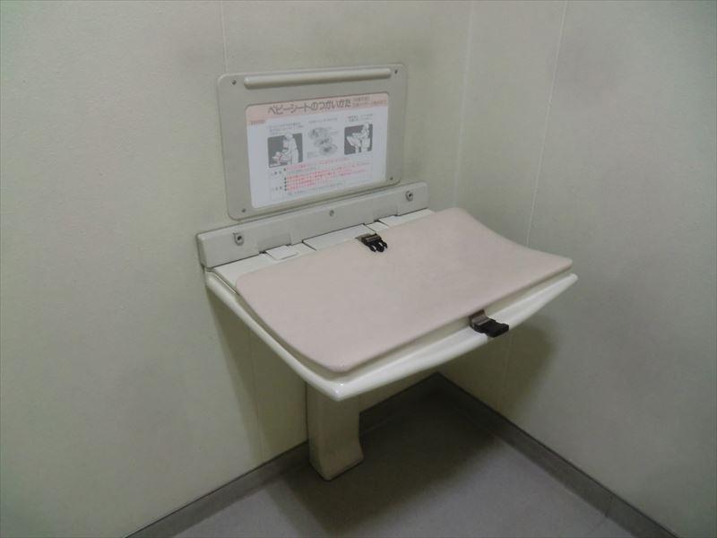 多目的トイレおむつ替えシート