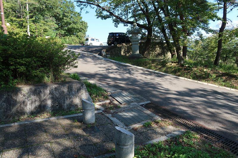 信夫山公園(第1展望台)