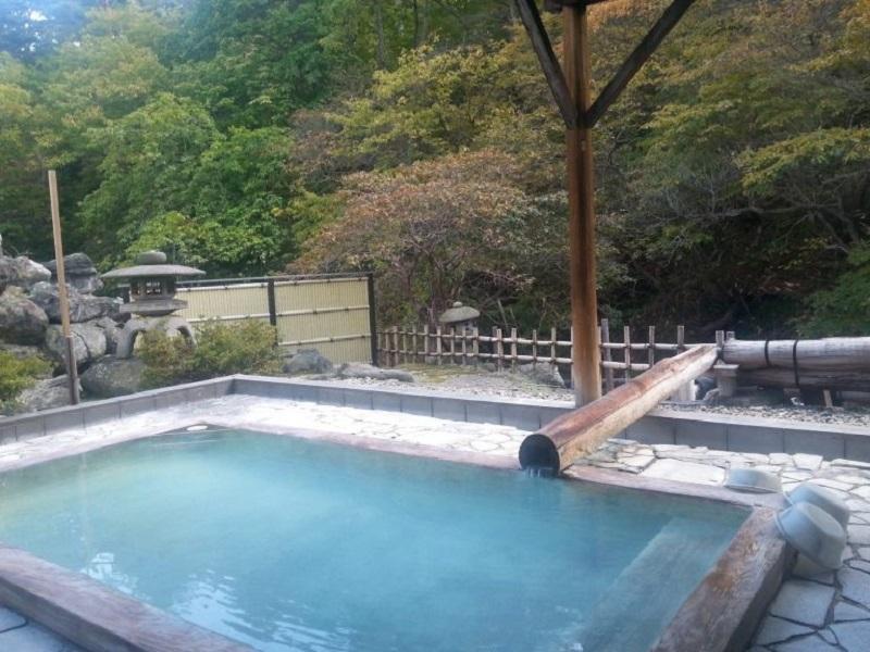 日帰り温泉 – 高湯