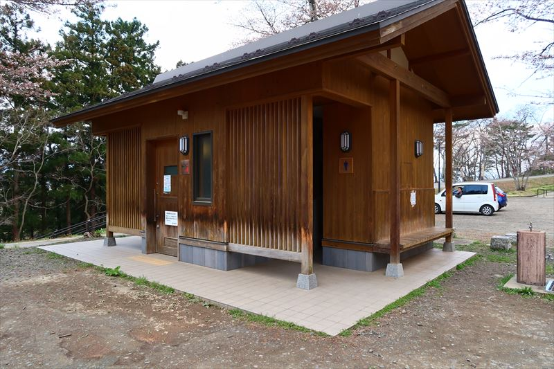 大森城山公園トイレ