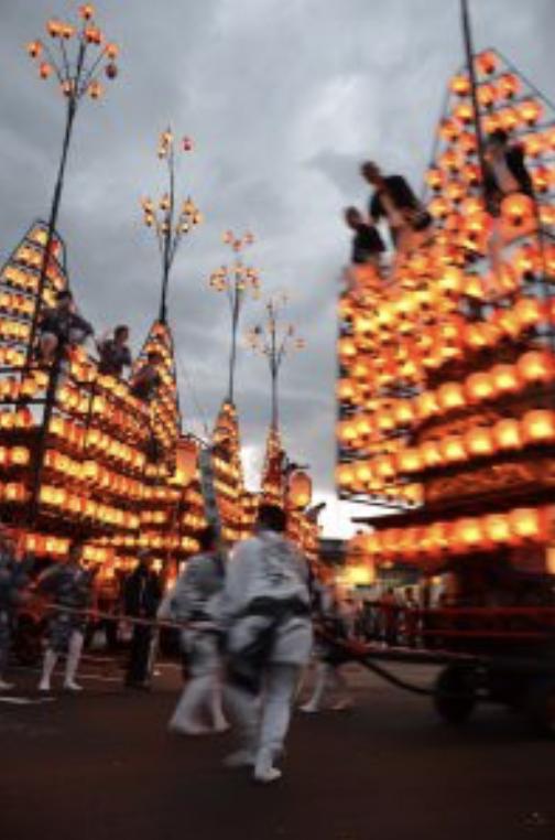 松川町提灯祭