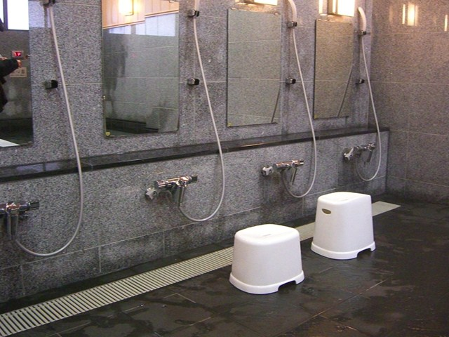 飯坂温泉共同浴場『波来湯』
