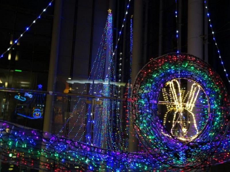 【終了】コラッセふくしま クリスマス イルミネーション2019