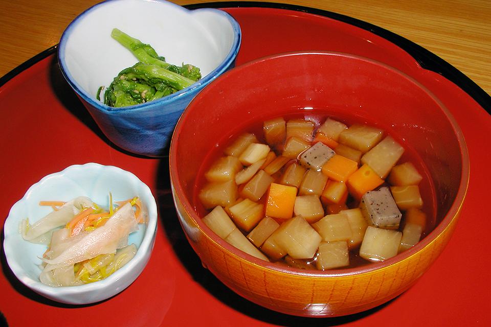 二本松市郷土料理「ざくざく」