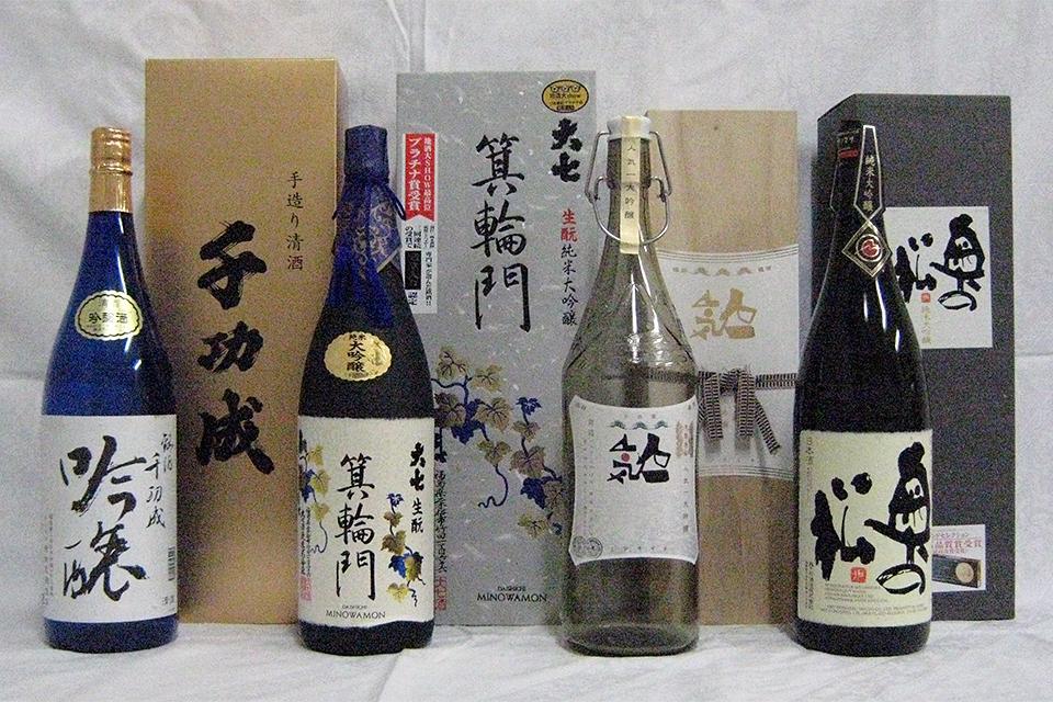二本松市の日本酒4蔵元