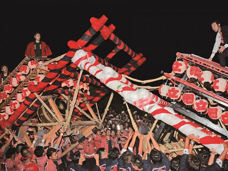 飯坂けんか祭り(八幡神社例大祭)