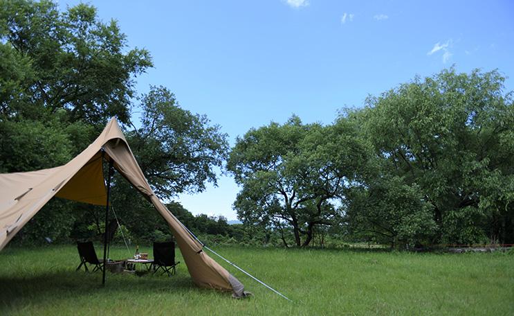 利用料無料のキャンプ場