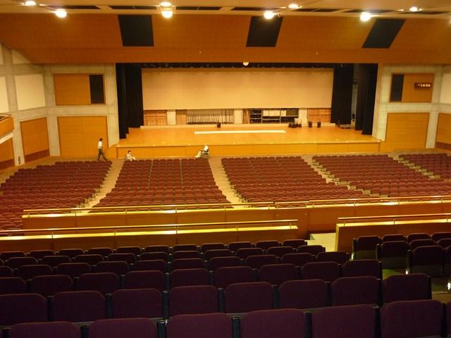 2階観客席からの眺め