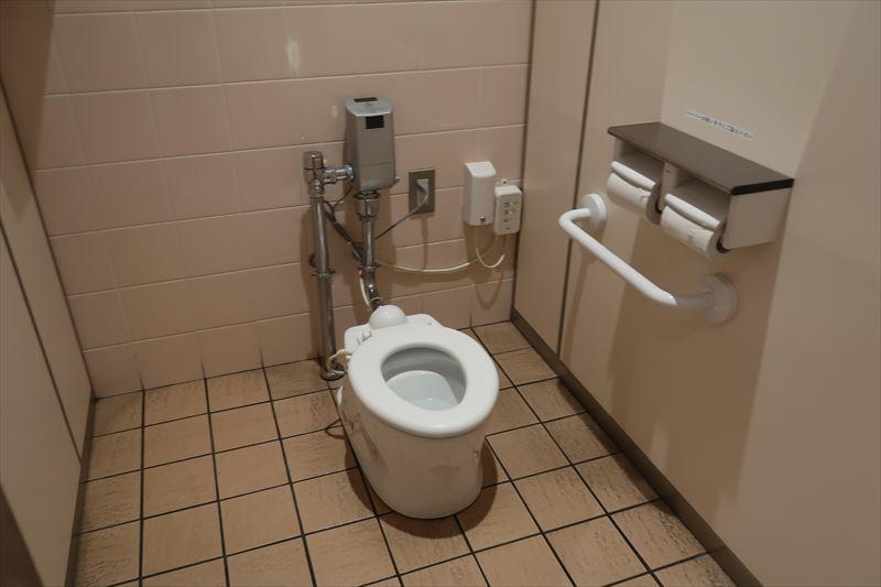 女子トイレ内にあるおこさま用小便器