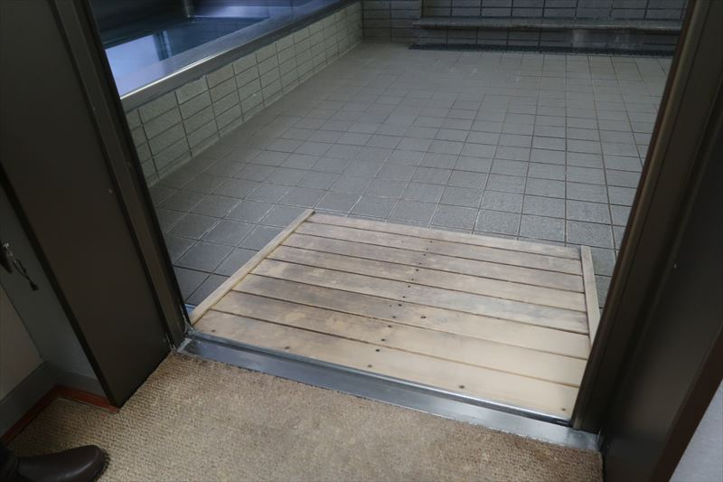 【浴室】入口スロープあり