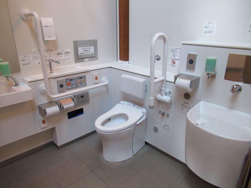 おもてなしトイレ