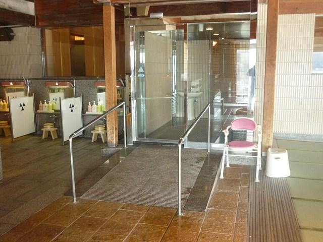 大浴場(出入口)