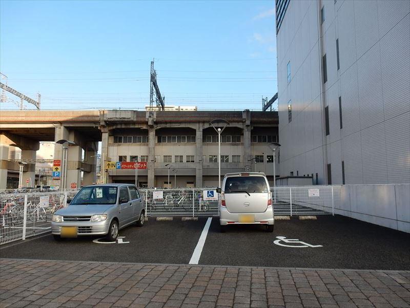 おもいやり駐車場。