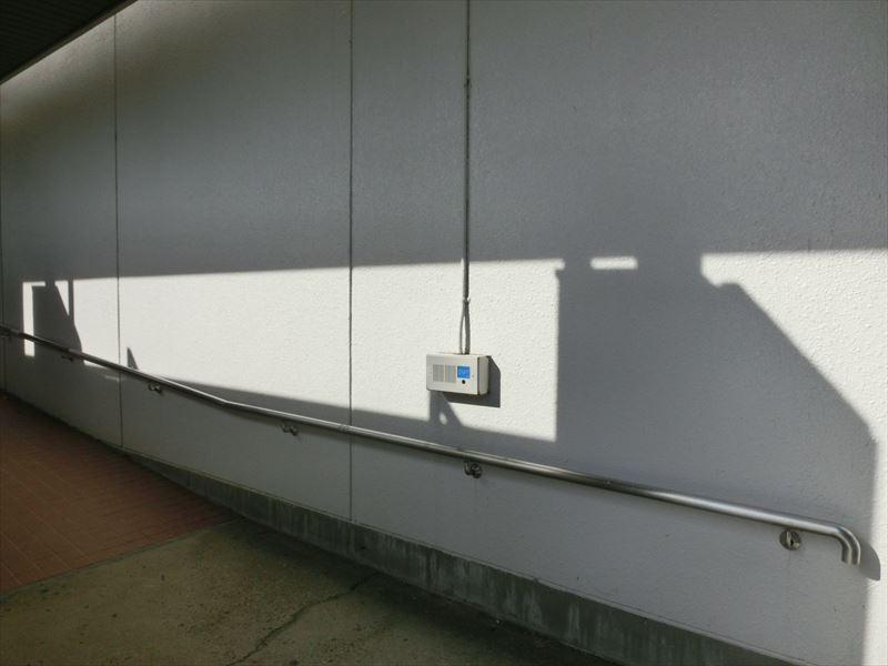 建物入口までスロープ