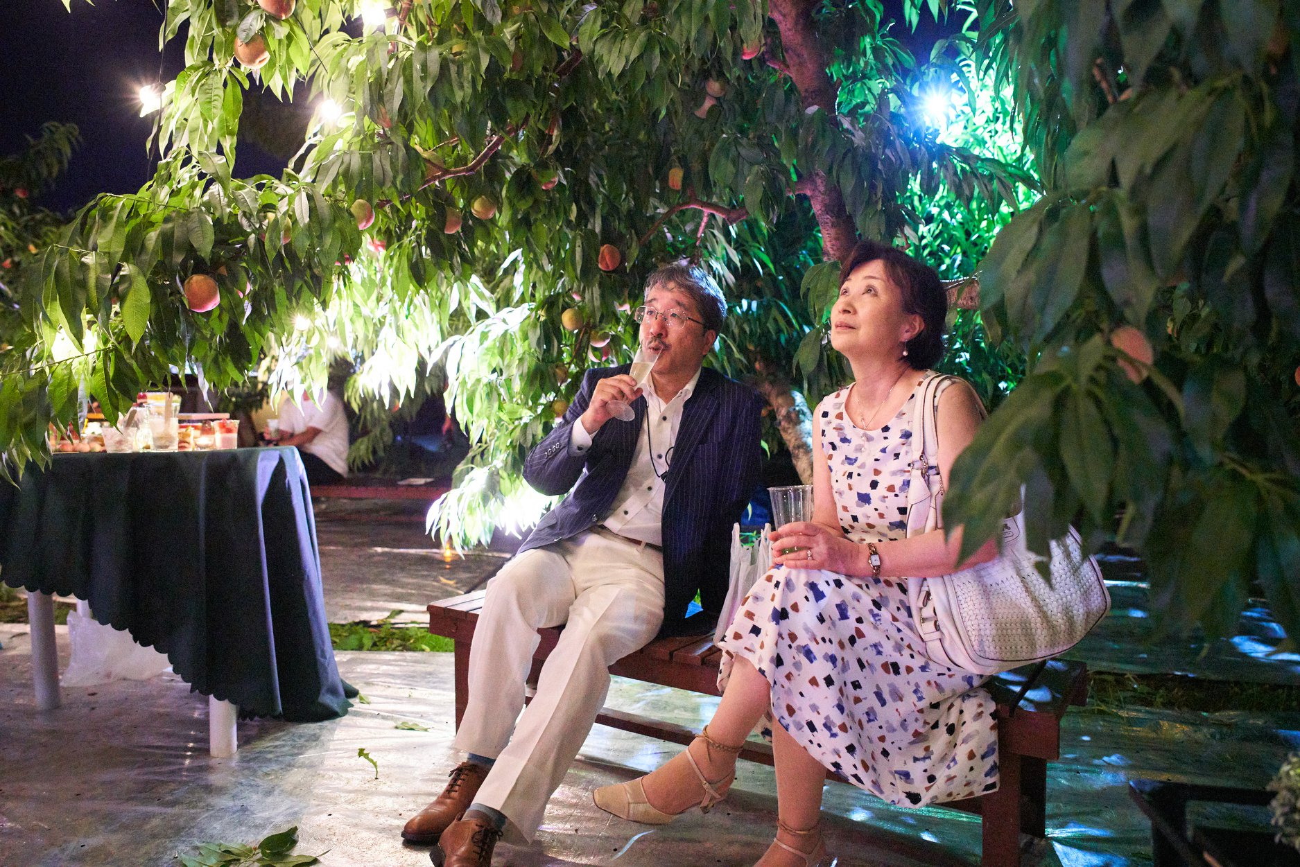 「夜の果樹園2020桃」8月26日(水)〜29日(土)参加者募集中