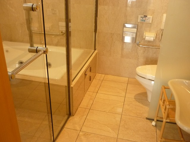 浴室とトイレはセパレート
