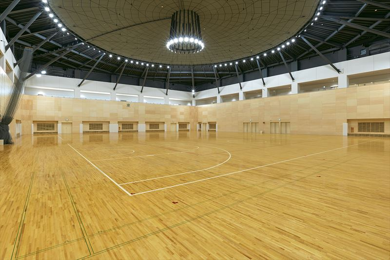NCVふくしまアリーナ(福島市体育館・武道場)