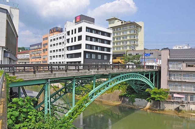 飯坂温泉 十綱橋