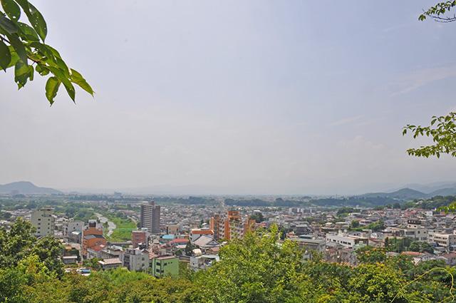 飯坂温泉 愛宕山公園