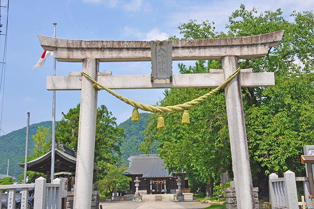飯坂温泉 飯坂八幡神社