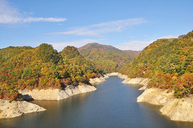 摺上川ダム 茂庭っ湖