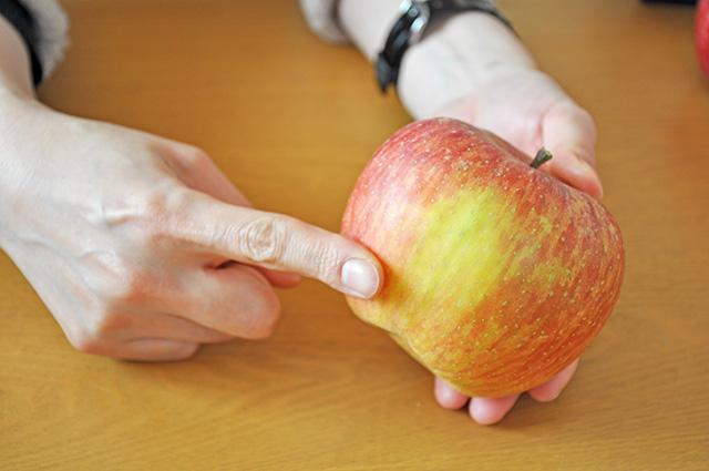 サンふじ 福島市 りんご