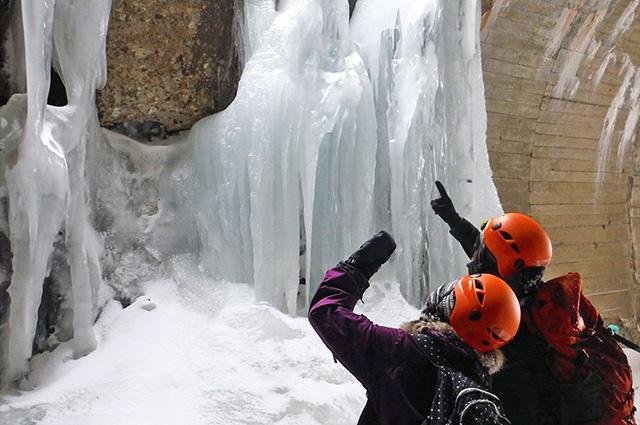 2月7日(日)ツアー初開催。スノーシューを履いて「氷の神殿」を目指そう!
