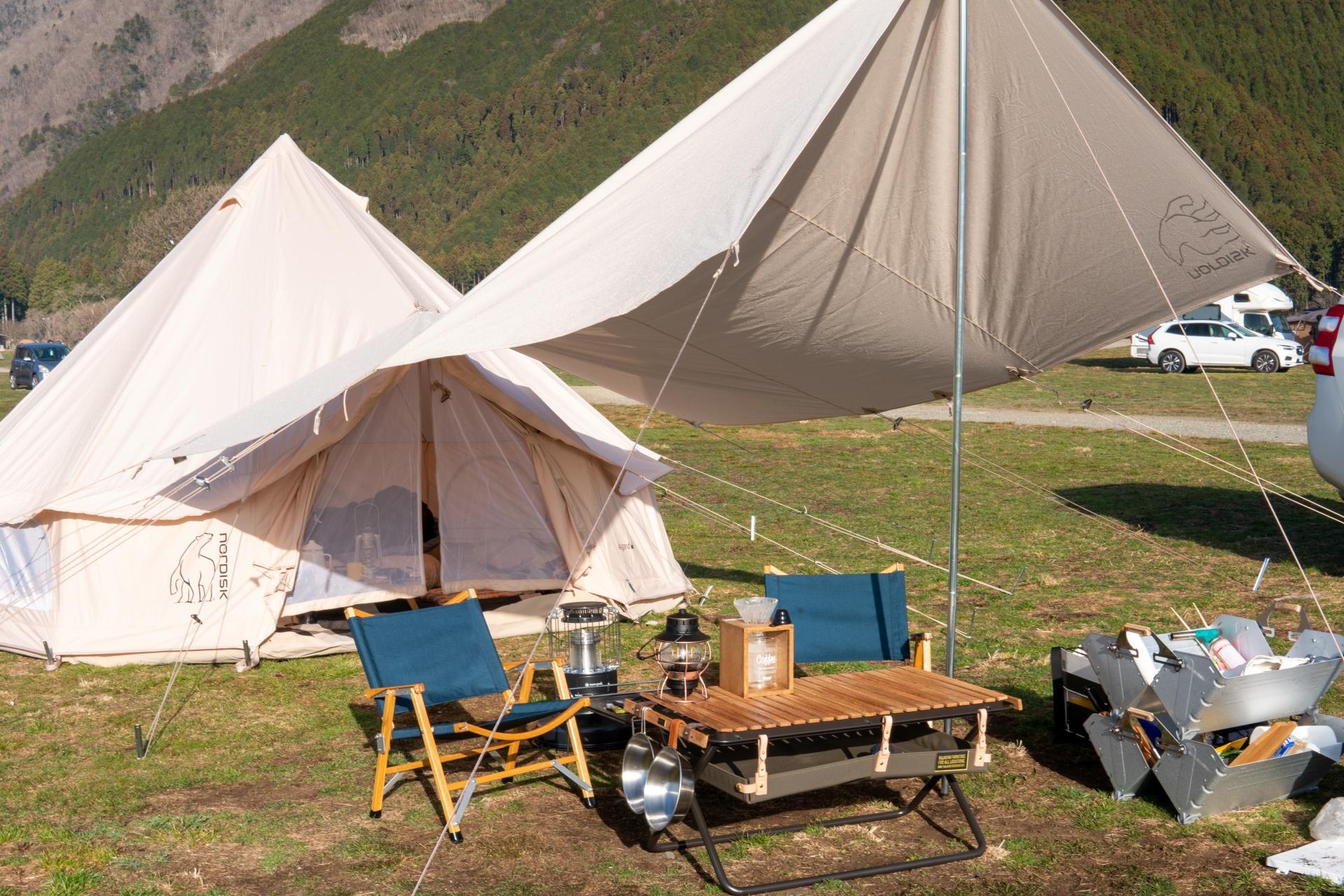 初心者でも安心「フォレストパークあだたら」で快適にファミリーキャンプを楽しもう!